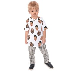 Crying Kim Kardashian Kids Raglan Tee