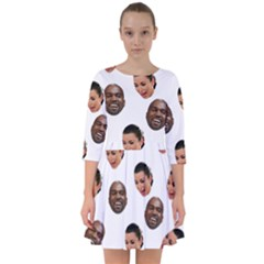Crying Kim Kardashian Smock Dress