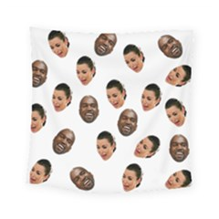 Crying Kim Kardashian Square Tapestry (small)