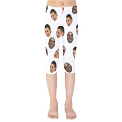 Crying Kim Kardashian Kids  Capri Leggings