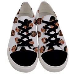 Crying Kim Kardashian Men s Low Top Canvas Sneakers