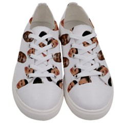 Crying Kim Kardashian Women s Low Top Canvas Sneakers