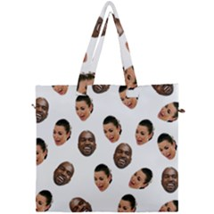 Crying Kim Kardashian Canvas Travel Bag