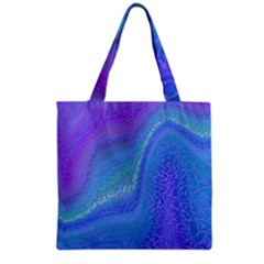 Marble Shades Elephant Texture Grocery Tote Bag by LoolyElzayat