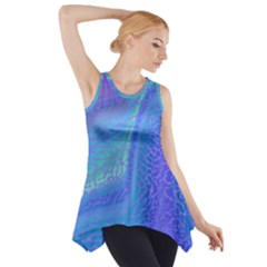 Marble Shades Elephant Texture Side Drop Tank Tunic