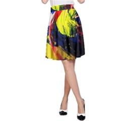 Global Warming 2 A Line Skirt