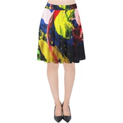 Global Warming 2 Velvet High Waist Skirt by bestdesignintheworld