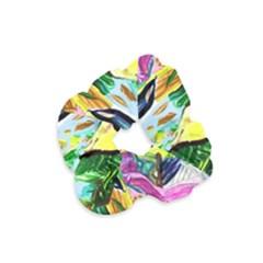 Lilac And Lillies 2 Velvet Scrunchie by bestdesignintheworld