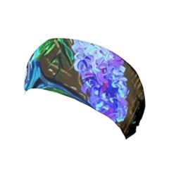 Lilac And Lillies 1 Yoga Headband by bestdesignintheworld