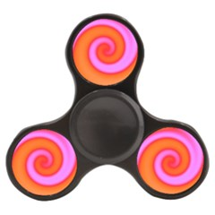 Swirl Orange Pink Abstract Finger Spinner by BrightVibesDesign