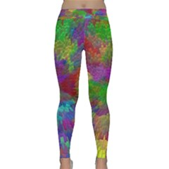 Colorful Patern Art Rainbow Classic Yoga Leggings