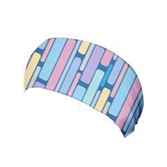 Retro Blocks Yoga Headband