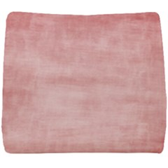 Red Color Patern Art Seat Cushion by goodart
