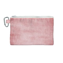 Red Color Patern Art Canvas Cosmetic Bag (medium) by goodart