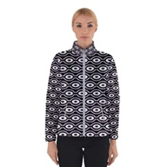 Retro Circles Pattern Winterwear