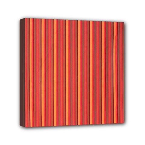 Retro Pattern Texture Fabric Art Material Graphic Textile Mini Canvas 6  X 6  by goodart