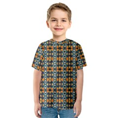 Artwork By Patrick Colorful 2 1 Kids  Sport Mesh Tee