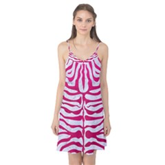 Skin2 White Marble & Pink Leather (r) Camis Nightgown