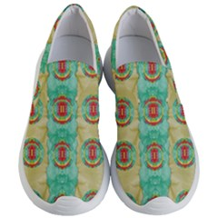 Peace Will Be In Fantasy Flowers With Love Women s Lightweight Slip Ons