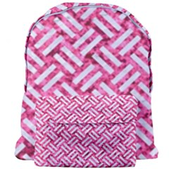 Woven2 White Marble & Pink Marble Giant Full Print Backpack