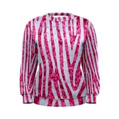Skin4 White Marble & Pink Marble (r) Women s Sweatshirt