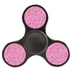 Hexagon1 White Marble & Pink Marble Finger Spinner by trendistuff