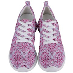 Damask1 White Marble & Pink Marble (r) Men s Lightweight Sports Shoes