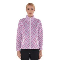 Woven2 White Marble & Pink Watercolor (r) Winterwear