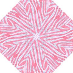 Skin4 White Marble & Pink Watercolor (r) Hook Handle Umbrellas (medium) by trendistuff