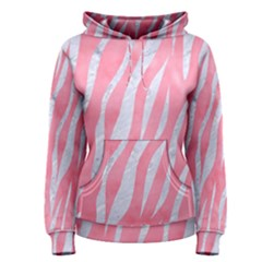 Skin3 White Marble & Pink Watercolor Women s Pullover Hoodie