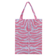 Skin2 White Marble & Pink Watercolor Classic Tote Bag