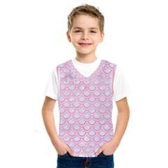 Scales2 White Marble & Pink Watercolor (r) Kids  Sportswear