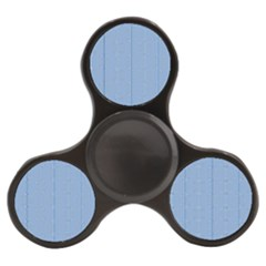 Mod Twist Stripes Blue And White Finger Spinner by BrightVibesDesign