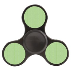 Mod Twist Stripes Green And White Finger Spinner by BrightVibesDesign