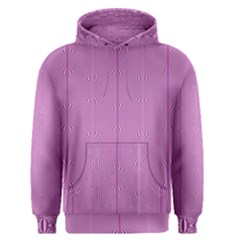 Mod Twist Stripes Pink And White Men s Pullover Hoodie