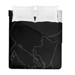 Boyfriends In Love Motivation Duvet Cover Double Side (full/ Double Size)