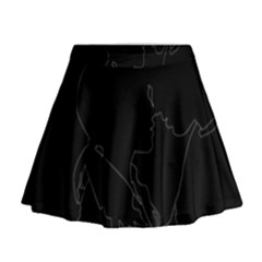 Boyfriends In Love Motivation Mini Flare Skirt