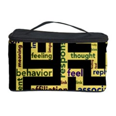 Mindset Stimulus Response Emotion Cosmetic Storage Case