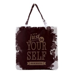 Encourage Motivation Tackle Things Grocery Tote Bag