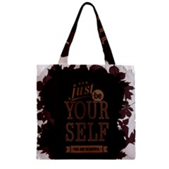 Encourage Motivation Tackle Things Zipper Grocery Tote Bag