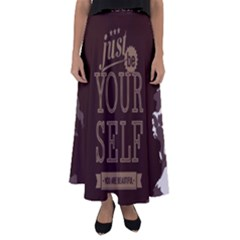 Encourage Motivation Tackle Things Flared Maxi Skirt