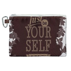 Encourage Motivation Tackle Things Canvas Cosmetic Bag (xl)