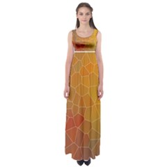 Colors Modern Contemporary Graphic Empire Waist Maxi Dress