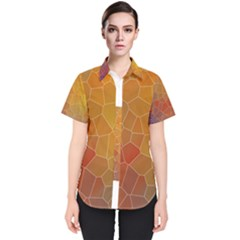 Colors Modern Contemporary Graphic Women s Short Sleeve Shirt
