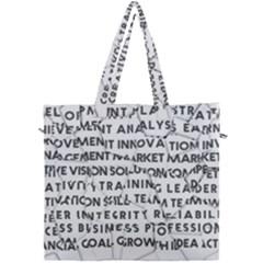 Success Business Professional Canvas Travel Bag