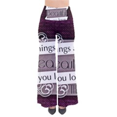 Beautiful Things Encourage So Vintage Palazzo Pants by Sapixe