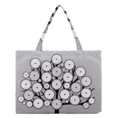 Gears Tree Structure Networks Medium Tote Bag
