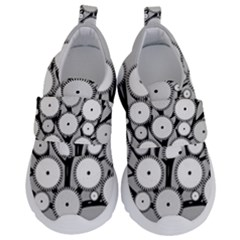 Gears Tree Structure Networks Velcro Strap Shoes