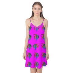 Opposite Way Fish Swimming Camis Nightgown