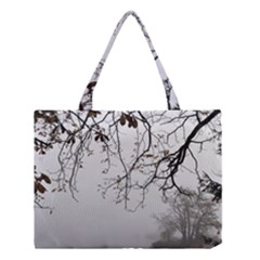 Tree Nature Landscape Medium Tote Bag